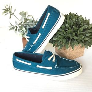 Turquoise Sperry Top-Sider Boat shoes Women's 8.5